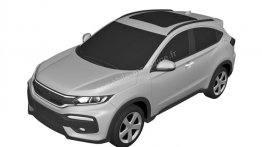 Honda XR-V compact SUV patented in Europe - Report