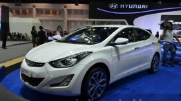 India-bound Hyundai Elantra facelift showcased at Thai Motor Expo 2014 - IAB Report