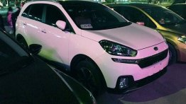 Hyundai ix25 based production-spec Kia KX3 spied without camou - China