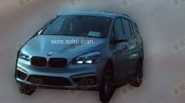 BMW 7-seat Active Tourer MPV partially revealed - Spied