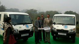 Mahindra Maxximo Electric to ferry tourists near Taj Mahal - IAB Report
