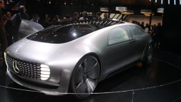 2015 NAIAS Live - Mercedes Benz F 015 Luxury in Motion concept