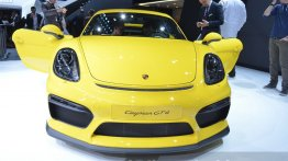 Porsche Cayman GT4 - 2015 Geneva Live