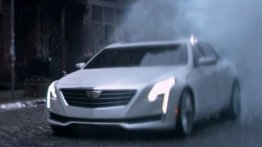 2016 Cadillac CT6 revealed in Oscar commercial [Update on engines]