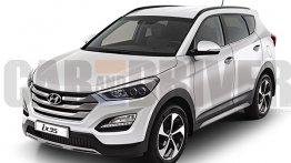 2016 Hyundai ix35 to sport a Santa Fe-like fascia - Rendering