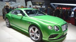 2015 Bentley Continental Series - 2015 Geneva Live