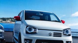 Suzuki Alto Turbo RS with AMT specifications leaked - Japan