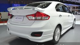 Suzuki Ciaz 'Aero' with body kit (India-bound) debuts at Bangkok Show – IAB report