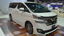2015 Toyota Vellfire - 2015 Bangkok Live
