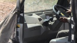 Eicher-Polaris Flexituff shows its interior in new images - Spied