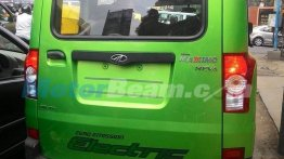 Mahindra Maxximo Electric snapped testing in Bengaluru - Spied