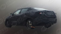Purported Nissan Lannia sedan spied for the first time - China