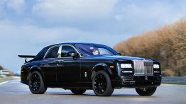 Rolls Royce's first SUV (Project Cullinan) starts testing on Phantom's body - IAB Report