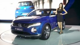 VW T-ROC compact crossover - 2015 Seoul Live