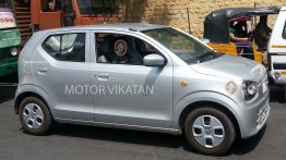 2015 Suzuki Alto (JDM) snapped testing in Coimbatore - Spied
