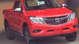 2016 Mazda BT-50 pickup (facelift) caught undisguised - Spied