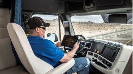 Daimler debuts autonomous truck on public roads - IAB Report
