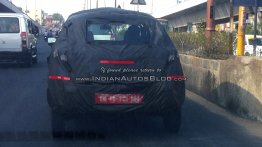 IAB reader snaps the Renault XBA (Renault Kayou) on test - Spied