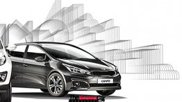 2016 Kia cee'd (facelift) official image leaks - Report