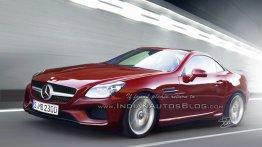 2016 Mercedes SLC - IAB Rendering