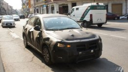 Production-spec Fiat Aegea spotted testing - Spied