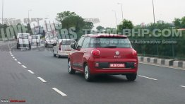 Fiat 500L spotted on Indian roads, but no launch on the cards - Spied