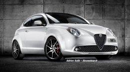 2016 Alfa Romeo Mito (facelift) - Rendering