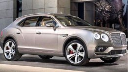 W12-powered 2016 Bentley Bentayga - Rendering