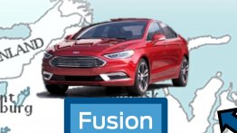 2017 Ford Fusion (Ford Mondeo facelift) allegedly leaked - Report
