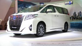 Toyota Alphard Hybrid, Toyota Mirai, Toyota i-Road - GIIAS 2015 Live