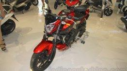 Yamaha MT-25 on show at IIMS 2015 - IAB Report