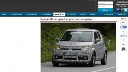 Production Suzuki iM-4 mini SUV spied testing for the first time - Report