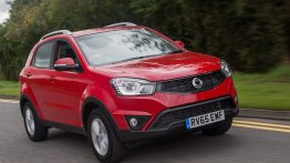 2016 SsangYong Korando gets new 2.2L diesel, 6-speed AT - UK