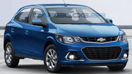2017 Chevrolet Onix (facelift) - Rendering