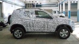 Next-gen Chevrolet Niva compact SUV shows its interior - Spied