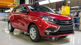 New images of Lada XRAY hatchback surface - Russia