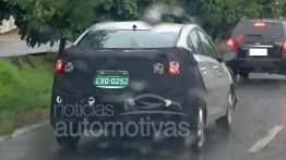 2016 Hyundai HB20S sedan (facelift) spotted in Brazil - Spied