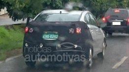 2016 Hyundai HB20S sedan (facelift) spotted in Brazil - Spied