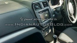 Interior of Maruti YBA sub-4m SUV fully revealed - Spied