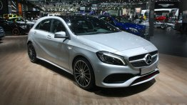 India-bound Mercedes A-Class facelift & Mercedes GLC - 2015 Dubai Motor Show Live