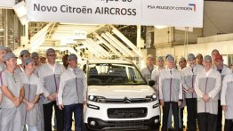 2016 Citroen Aircross (facelift) unveiled in Brazil, production commences - IAB Report