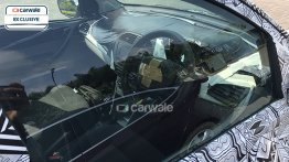 Tata Kite hatchback's dashboard snapped again - Spied