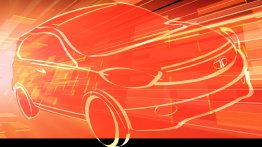 Tata Kite hatchback's teaser sketch revealed - IAB Report