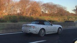 Fiat Abarth 124 Spider seen testing in Europe - Spied