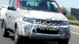 2016 Mahindra Genio (facelift) snapped on test - Spied