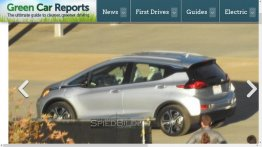 2017 Chevrolet Bolt spied undisguised during photo shoot