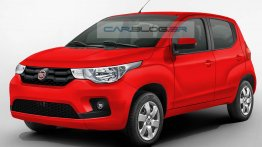Fiat X1H to share components with Fiat Uno - Rendering
