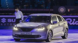 India-made Suzuki Baleno showcased in Italy - IAB Report