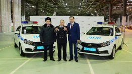 Lada Vesta sedan enters Russian police fleet - IAB Report