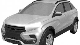 Lada XRay Cross patent images leaked - Report